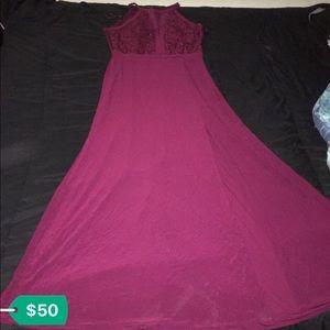 Dresses & Skirts - Dark burgundy dress